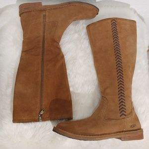 UGG Wilder Tall suede leather Boot  Size 8